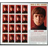 John Lennon, Beatles Limited Edition Collectible Postage Stamps Nicaragua