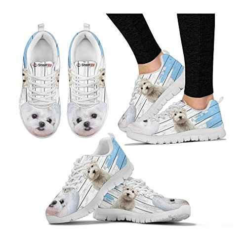 Amazing Print Women's Choose Dog Shoetup Women's Casual Breed Maltese Running Your Sneakers Shoes RnwqAEC