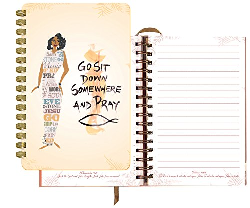 "Shades of Color Go Sit Down Somewhere and Pray Journal, 5.5 x 8.5"", 140 lined pages (J031)"