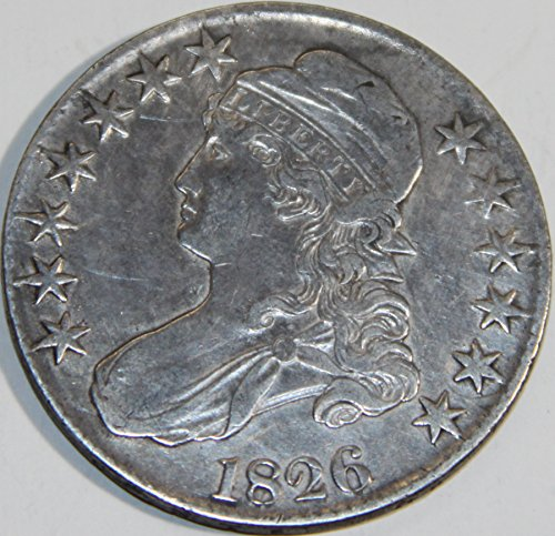 1826 Capped Bust Half Dollar XF40