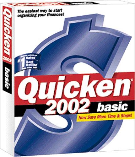 Quicken 2002 Basic