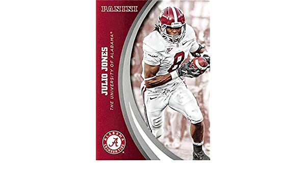 5610833f0 Julio Jones football card (Alabama Crimson Tide) 2015 Panini Team  Collection  45 at Amazon s Sports Collectibles Store