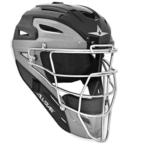 ALL-STAR MVP2510TT Two-Tone Youth Catchers Helmet by All-Star