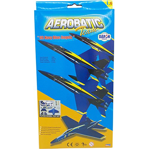 Smithsonian F/A-18 Blue Angels Glider - Jet Powered Glider