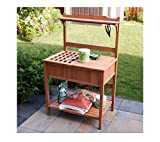 Merry Products Potting Bench with Recessed Storage