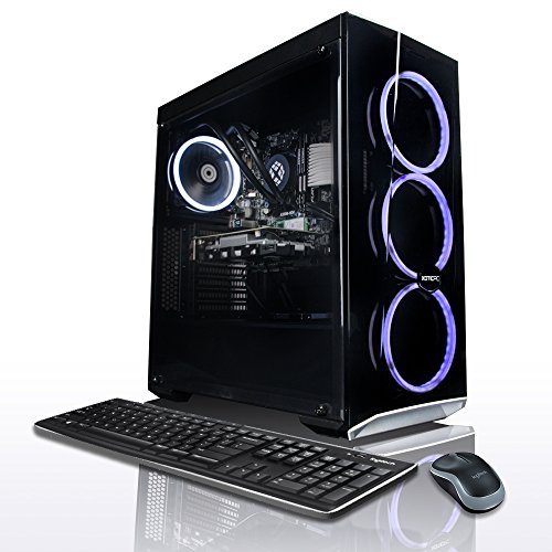 Price comparison product image XOTIC PC Elite AMD + Nvidia Gamer and WorkStation PC - 8 Core 4.3GHz Ryzen 7 2700X | GeForce GTX 1060 3GB | 16GB DDR4 RAM | 250GB SSD | 1TB HDD | Windows 10 | 3 Year Parts Warranty | Liquid Cooled CPU