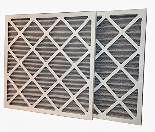 "US Home Filter AC60-20X22X1-6 20x22x1 Activated Carbon Odor Removal Merv 11 Pleated Air Filter (6-Pack), 20"" x 22"" x 1"""