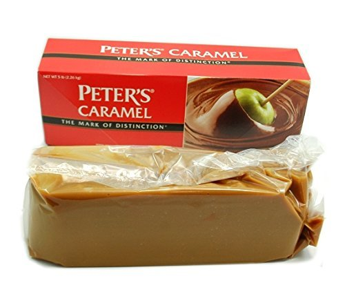 Peter's Creamy Caramel, 5 Lb. Block (Pack of 2) by Peters