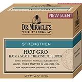 Dr. Miracles Strengthen Hot Gro Hair/Scalp Treat 4oz Super