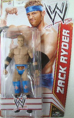 WWE Series 22 Zack Ryder Figure