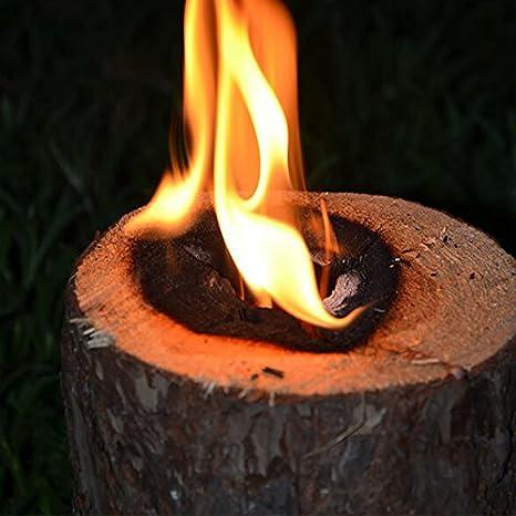 Antorcha Fuegos algodón antorcha de jardín Finlandés antorcha Outdoor Woodson: Amazon.es: Jardín