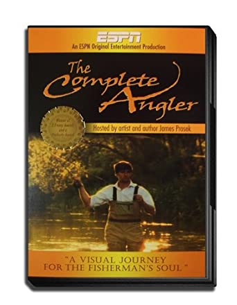 Amazon Espn Original Entertainment The Complete Angler Hosted