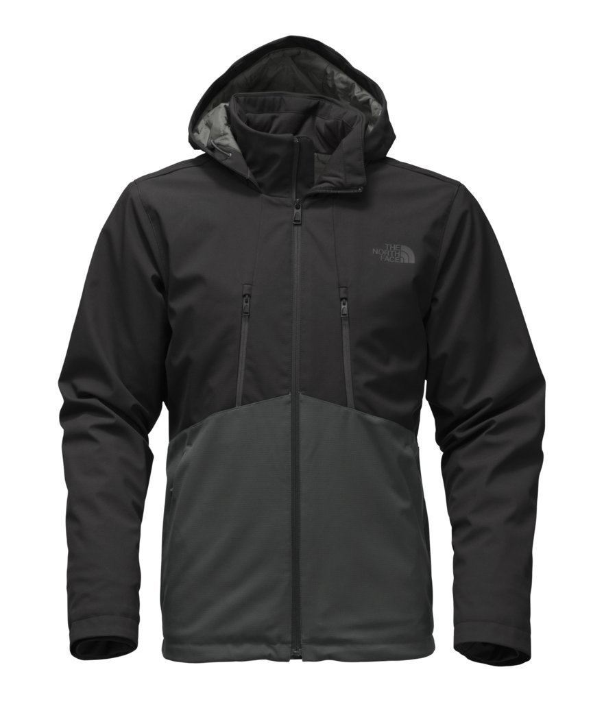 The North Face Men's Apex Elevation Jacket - TNF Black & Asphalt Grey - XXL (Past Season)