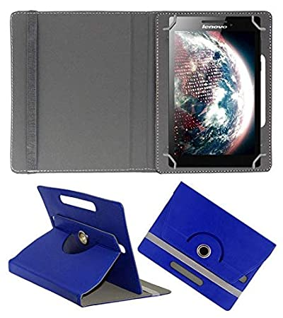 Hello Zone Exclusive 360 deg; Rotating 8 rdquo; Inch Flip Case Cover Book Cover for Samsung Tab A SM T355YZWA Tablet  Blue Tablet Accessories