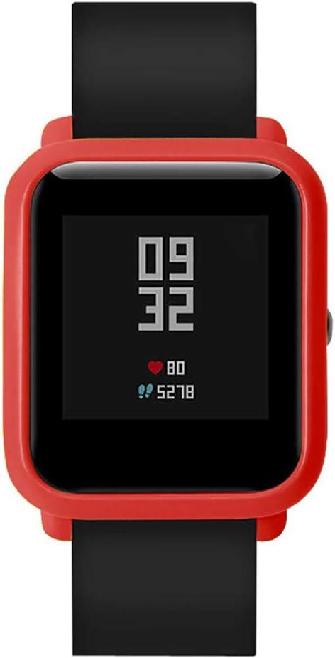 LILYTING Kompatibel mit Xiaomi Huami Amazfit Bip Youth Smartwatch Geh/äuse Ultrad/ünn TPU Anti-Scratch Flexibler Sh/ülle chutzh/ülle Rundherum Schutz Case Cover Abdeckung Minzgr/ün