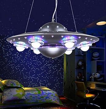 Kreative Kind Kronleuchter UFO fliegende Untertasse Schlafzimmer ...