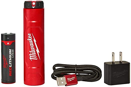 Milwaukee Electric Tools 48-59-2003 Red Lithium USB & Battery Charger Kit