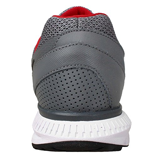 Nike Zoom Winflo, Zapatillas de Running para Hombre COOL GREY/BLACK-UNVRSTY RED-WHITE