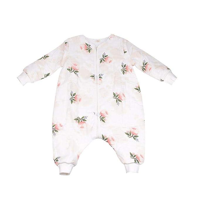 WANGWTRY Mono Saco de Dormir para Bebés Niños Niñas con Manga Larga Desmontable Mameluco Pijama Ropa de Dormir Bebés para Otoño Primavera: Amazon.es: Ropa y ...