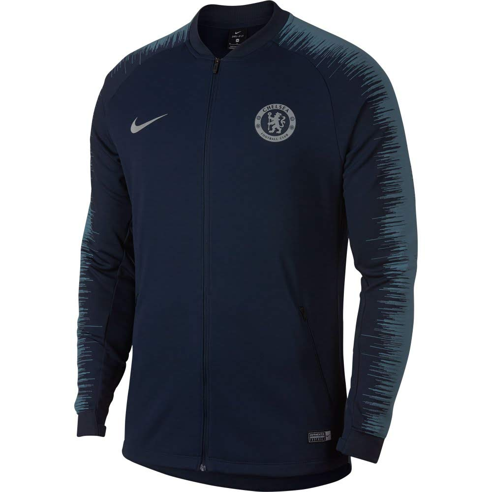 56c811e60 Amazon.com : Nike Chelsea FC Men's Football Jacket 2018/2019 : Clothing
