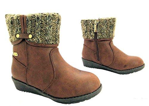 Xti Girls 52650-Stiefel aus Leder