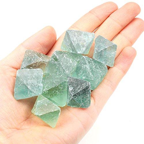 green fluorite crystal - 5