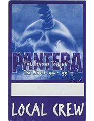Pantera 1994-95 Tour Backstage Pass Dimebag Darrell