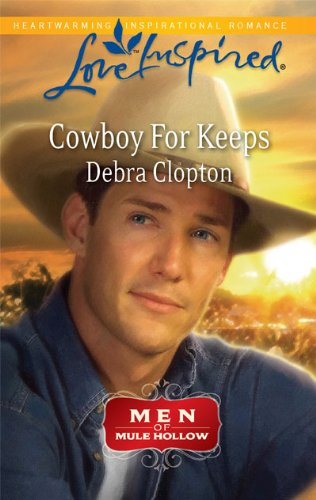 book cover of Cowboy for Keeps