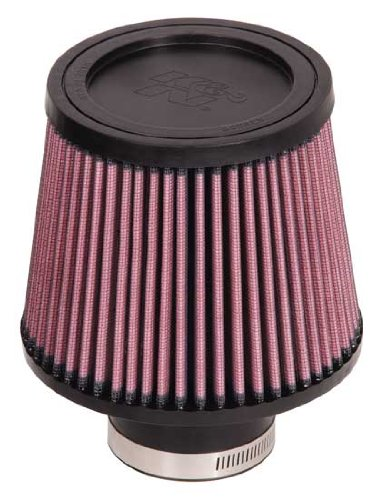 K&N RU-5174 Universal Rubber Round Tapered Air Filter