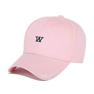 WYLBQM Sombrero Letra W Gorra de béisbol Mujeres Papá Sombreros ...