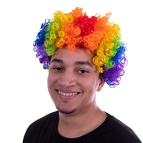 Clown Afro Wig | Halloween Costume Accessory |