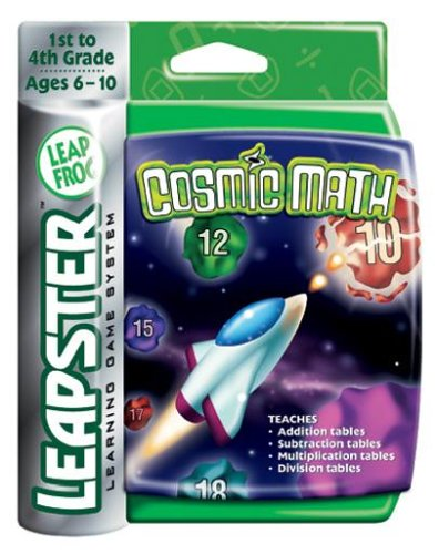 Leapster Arcade: Cosmic Math by LeapFrog (Image #1)