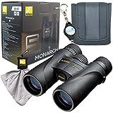 Best Birding Binoculars Nikons - Nikon 7576 MONARCH 5 8x42 Binocular Bundle Review