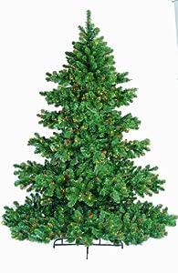 gkibethlehem lighting 7 12 foot chesapeake christmas tree pre lit with multi colored lights buy gki bethlehem lighting