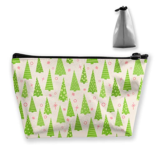 Yunshm Evergreen Forest Customized Trapezoidal Storage Bag Ladies