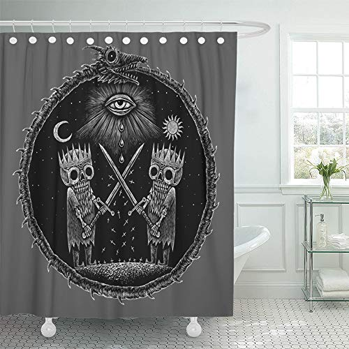 Emvency Shower Curtain 66