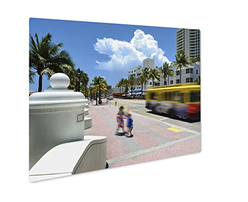 Ashley Giclee Metal Panel Print, Fort Lauderdale Beach, Wall Art Decor, Floating Frame, Ready to Hang 8x10, - Las Directions To Olas