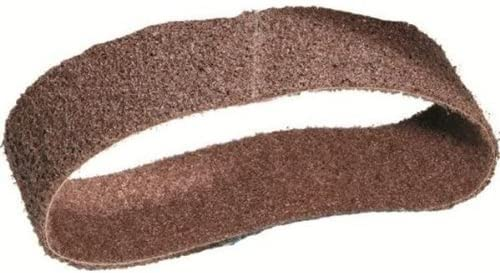 10 pack United Abrasives SAIT 77510 1//2X18 Non-Woven Deburring//Blending Belt BROWN