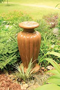 Aquascape, Large Powdered Terracotta Classic Greek Urn Fountain w/pump