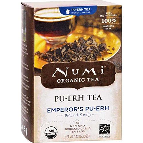 Numi Organic Emperors Puerh Black