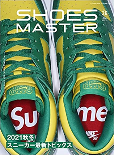 SHOES MASTER 2021年秋冬 vol.36 width=