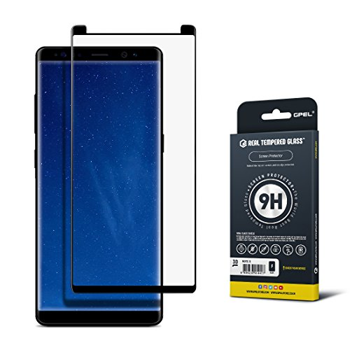 Galaxy Note 8 Screen Protector [2017 Model], Case Friendly, GPEL RTGLab Tempered Glass, 100% Satisfaction Guarantee, Premium Japanese Asahi Glass