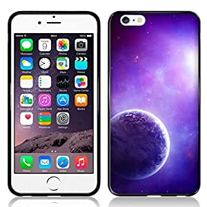 Case Fun Purple Planet TPU Rubber Back Case Cover for Apple iPhone 6 (4.7 inch)