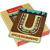 'U es para metro de Paul Thurlby tarjeta de viaje y titular de la tarjeta por salvajes y lobo
