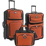 Traveler's Choice Amsterdam 3-Piece Travel Collection (Orange)