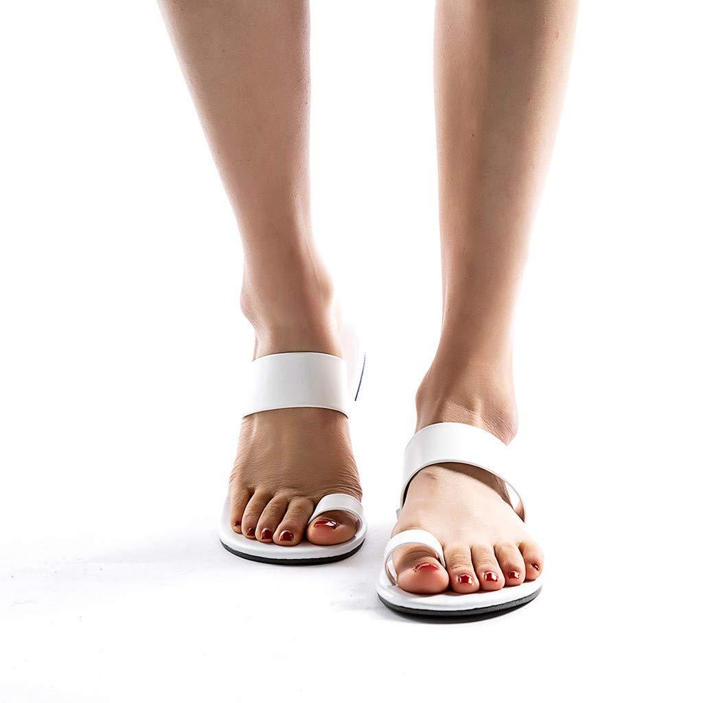 Hunzed Women【Wedge Flip Flops】 Womens Fashion High Heel Stylish Platform Sandals Summer Beach Slippers
