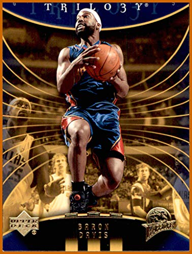 Davis Baron Warriors (2005-06 Upper Deck Trilogy #26 Baron Davis GOLDEN STATE WARRIORS)