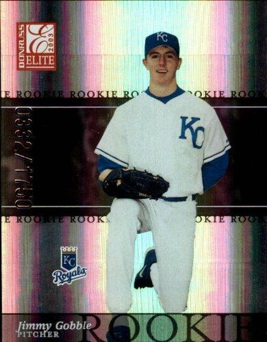 2003 Donruss Elite Baseball Card #195 Jimmy Gobble - 2003 Donruss Elite Card Baseball