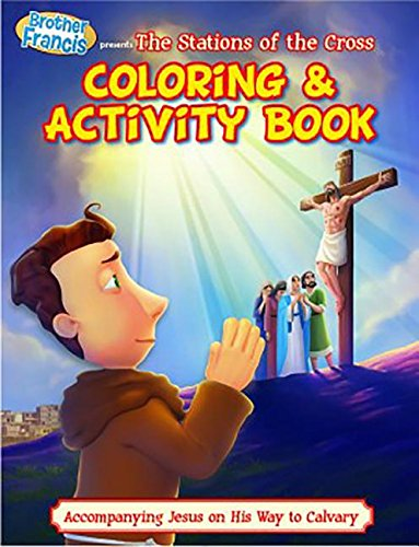 Brother Francis Coloring & Activity Book - Ep 14 - Stations of the Cross