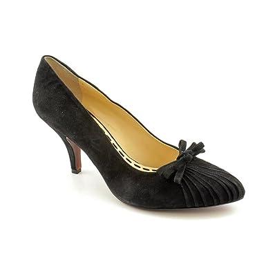7d3d1fff5a Amazon.com   Enzo Angiolini Women's Sorte Shoes, Black Suede, 10.5 M ...